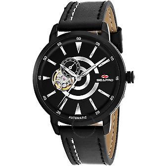 Seapro Elliptic Automatic Black Dial Men's Watch SP0142