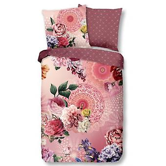 bed cover Gunilla 155 x 220 cm cotton old pink