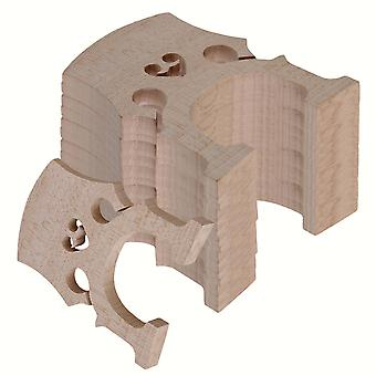 4/4 Burlywood Maple Bridge voor cello snaren hout full size set van 10