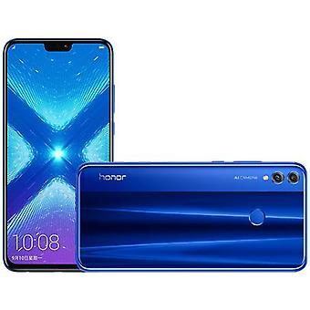 スマートフォン名誉8X 6GB / 64GBブルーデュアルSIMヨーロッパ版