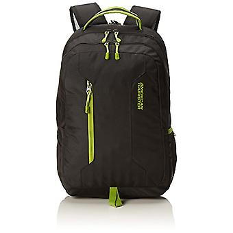 American Tourister Urban Groove PC Carrier Backpack, 15.6 inches, 47 cm, 27 L, Black (Black/Lime Green)