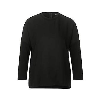 Street One 315511 T-Shirt, Black, 44 Woman