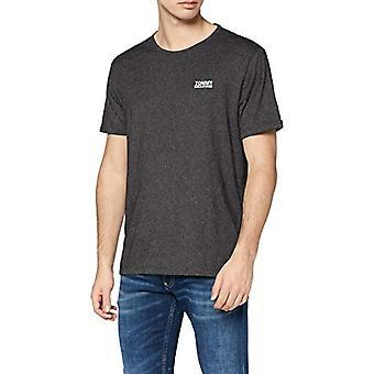 Tommy Hilfiger Camiseta Jaspe Moderna, Negro (Tommy Black 078), M Man
