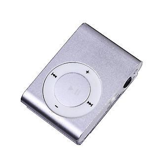 Micro Sd Mini Clip Metal Usb Mp3 Music Media Player Support