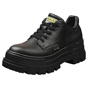 Buffalo Aspha Cls-vegan Womens Platform Shoes in Black