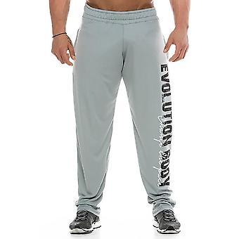 العضلات الرجال &#039؛s sweatpants اللياقة البدنية التدريب العدائين الخريف عارضة القطن sweatpants أزياء ملابس الشوارع الرجال حزام مرن