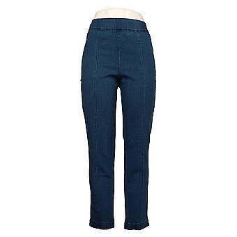 C. Wonder Women's Jeans Regular Denim Ankle With Seam Blue A289783