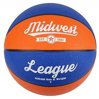Midwest League Koszykówka Niebieski/Pomarańczowy Rozmiar 5
