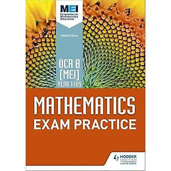 OCR B [MEI] Year 1/AS Mathematics Exam Practice