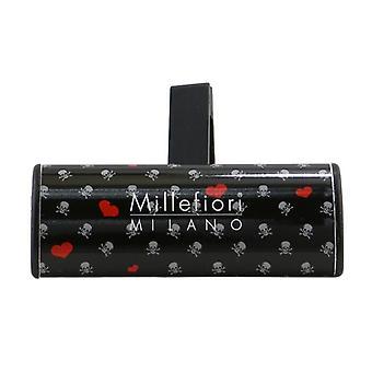 Millefiori Icon Cuori & Fiori Car Air Freshener - Cold Water 1pc