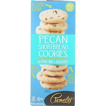 Pamelas Cookies Pecan Shortbread, sag af 6 X 6,25 Oz