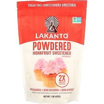 Lakanto Sweetnr Powdered, Case of 8 X 16 Oz