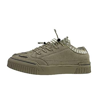 Men's Leather Casual Fashion All-match Sneakers