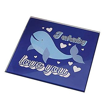 For Your Eyes Only Coaster - I Whaley Love You