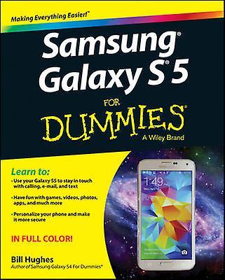 Samsung Galaxy S5 For Dummies av Bill Hughes