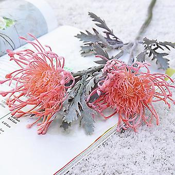 Leucospermum Artificial Flower Short Branch Crab Claw