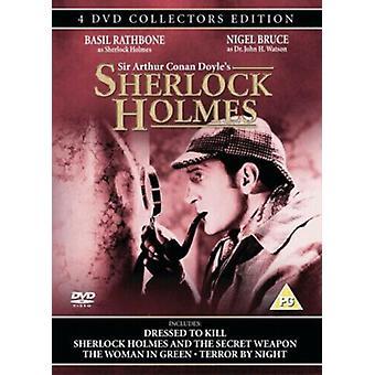 Sherlock Holmes Classic Collectors Set DVD (2004) Basil Rathbone Neill (DIR) Região 2