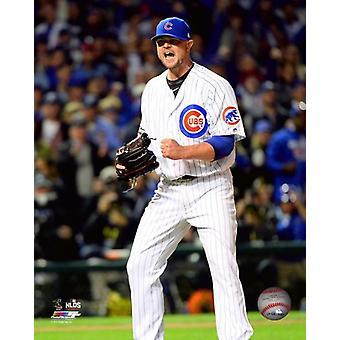 Jon Lester Spiel 1 von 2016 National League Division Series Photo Print