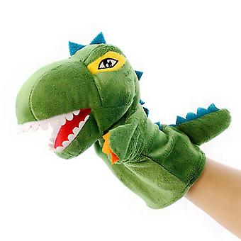 Seeunique Plush Dinosaur Hand Puppet T-rex Open Movable Mouth For Creative Role Play Gift For Kids Toddlers On Birthday Christmas