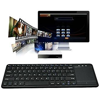 For Smart Office Wireless Keyboard Touch with Built-in Large Size Trackpad Mouse