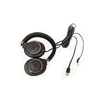 JBL LIVE Runt örat TRÅDBUNDEN hörlurar, USB-driven arbete från hemljudreduceringsheadset