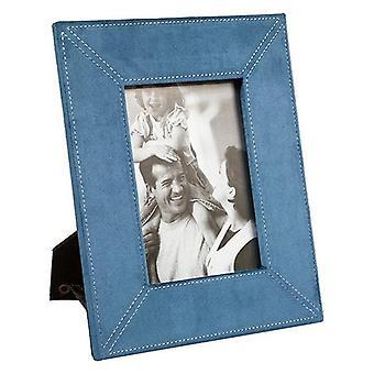 Fotolijsten Blauw Polyester Glas (21 x 2 x 27 cm)