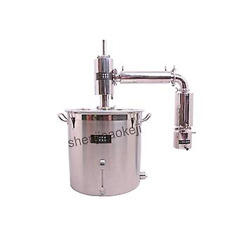 Kleine volautomatische huishoudelijke wijnbereiding commerciële brouwapparatuur