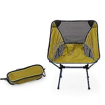 Outdoor Portable Camping And Beach Barbecue Fishing Folding Chair(Green)