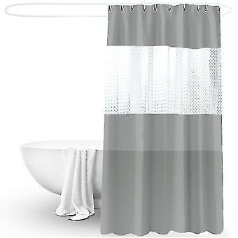 3d Szwy Przezroczyste Peva Prysznic Zasłona Ściereczka Pogrubiona Wodoodporny i pleśń-dowód prysznic wanna
