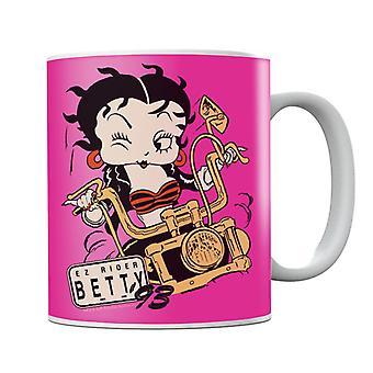 Betty Boop Ez Rider Betty Mug