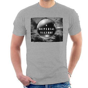 Universella bilder 1927 Svartvit logotyp Herr T-Shirt