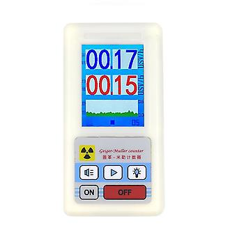 Br-6 Display Screen Geiger Counter Nucleaire Straling Detector X-ray Beta Gamma Detector Geiger Counter Radioactiviteit Detector