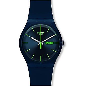 Swatch Suon700 blå Rebel Silicon-klocka