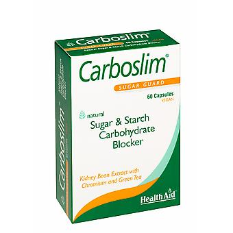 Health Aid Carboslim Phase 2 (with Chromium & Green Tea) - Blister Pack, 60 Capsules
