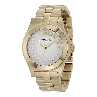 Marc By Marc Jacobs Naisten 'Rivera' kultasävyinen ruostumattomasta teräksestä valmistettu kello MBM3134