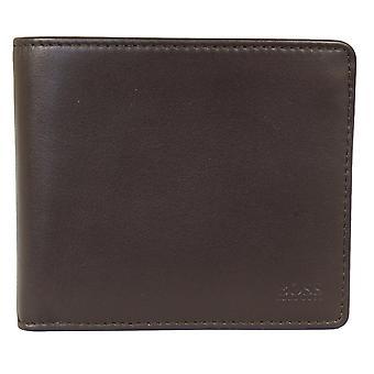 Hugo boss majestic s4 dark brown wallet