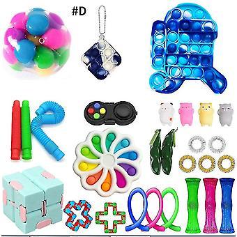 Sensory Fidget Toys Kit Set Stress Relief Toys