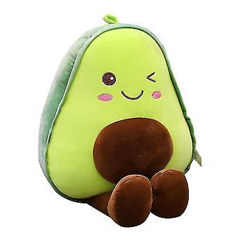 Süße Avocado Plüsch Stofftier, Kissen gefüllt mit Puppenfruchtkissen
