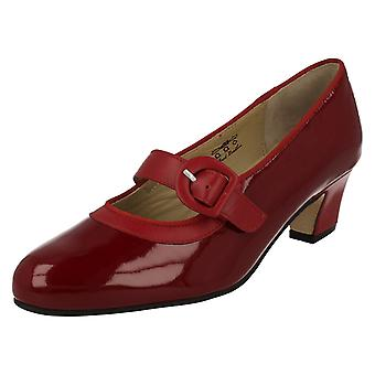 Ladies Equity Wide Fitting Court Shoes Maxine