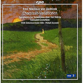 E.N.V. Reznicek - Emil Nikolaus Von Reznicek: Chamisso-Variationen [CD] USA import
