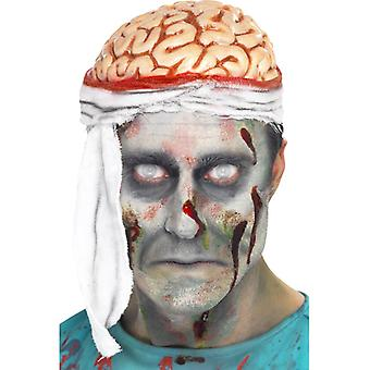 Braincap mozky mozková obvaz klobouk Halloween
