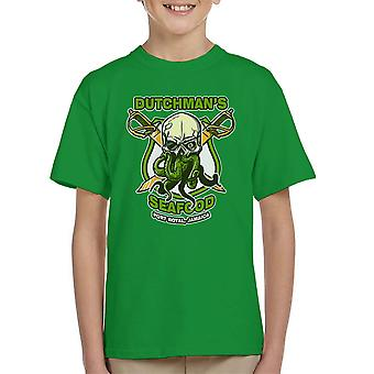 Dutchmans Seafood Kid's T-Shirt