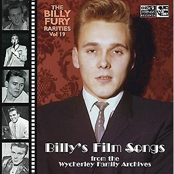 Billy Fury - Rarities Vol: 19 (Billys Film Songs) [CD] USA import