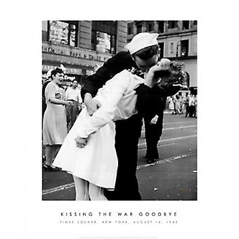 Kissing the War Goodbye Poster Print by Victor Jorgensen (16 x 20)