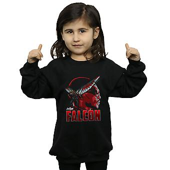 Marvel Girls Avengers Infinity War Falcon Character Sweatshirt
