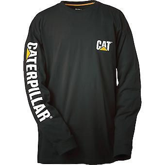 Caterpillar Mens marque Logo coton T Shirt
