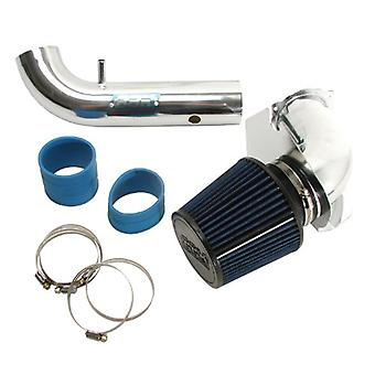 BBK 1717 Cold Air Intake System - Power Plus Series Performance Kit for Ford Mustang 3.8L V6 - Fenderwell Style - Chrome