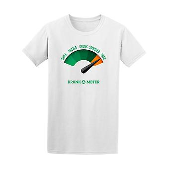 Drunk-o-meter Patrick Day Tee Men's -Image by Shutterstock