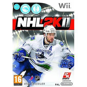 NHL 2K11 (Wii)-nieuw