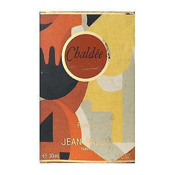 Jean Patou Chaldee Parfum Splash 1,0 Oz/30 ml em caixa (Vintage)